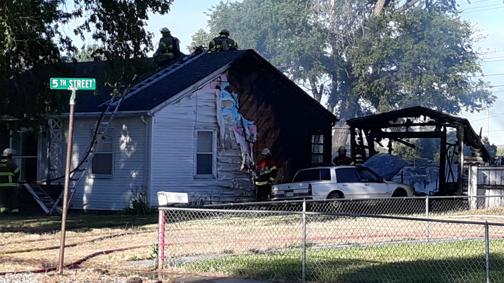 Early Monday Fire Displaces Minatare Resident
