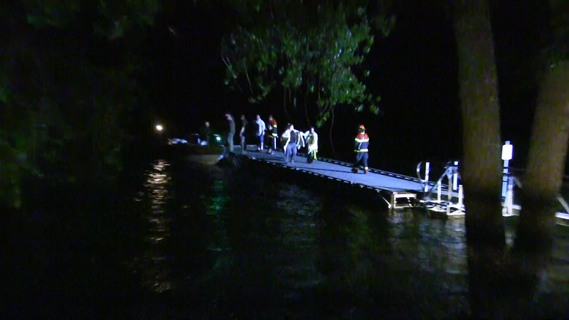 'Overdue' Teens Rescued from Island in Lake Minatare as Cold Wet Storms Move in Monday
