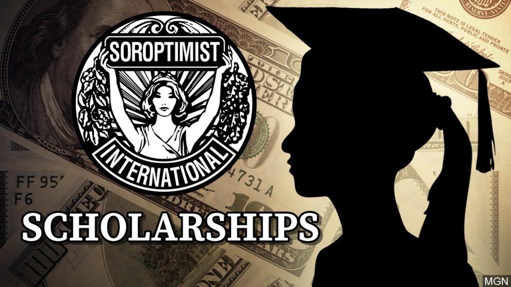 Soroptimists International of Scotts Bluff County Awards Scholarships to Graduating Seniors