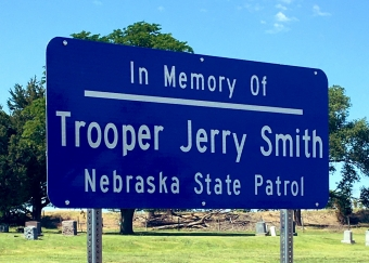 Nebraska State Patrol Honors Trooper Jerry L. Smith