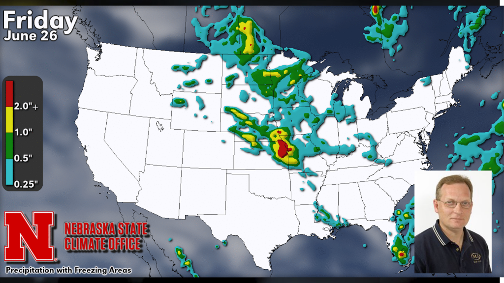 Slightly below normal temps, possible tornadic activity | Weather Forecast with Al Dutcher