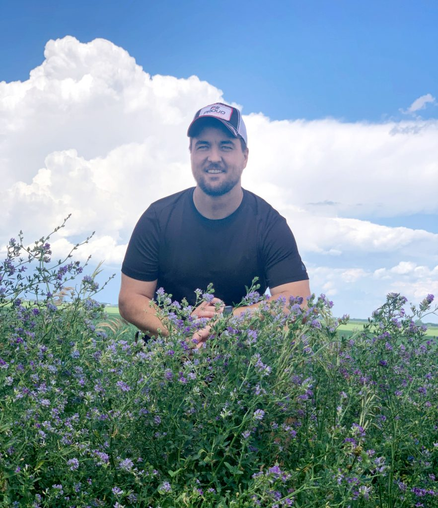 (AUDIO) Farmers look at pollinator habitat for organic crop