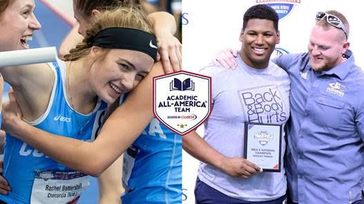 National champions garner CoSIDA Academic All-America honors