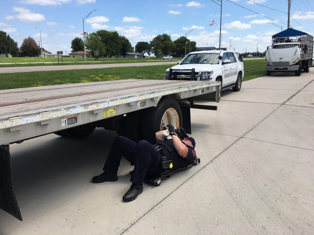 Surprise Commercial Vehicle Inspections Held in York