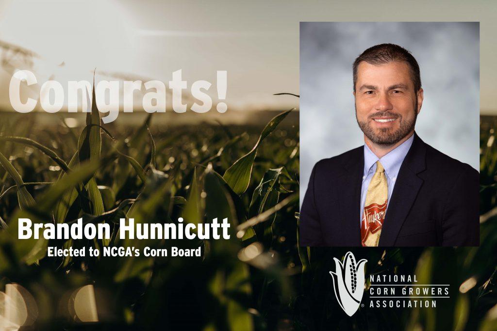 Nebraska's Hunnicutt re-elected to NCGA Corn Board