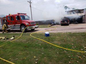 Fire in Trumbull District