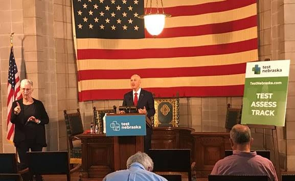 Gov. Ricketts, Education Commissioner Blomstedt Overview Back-to-School Plans