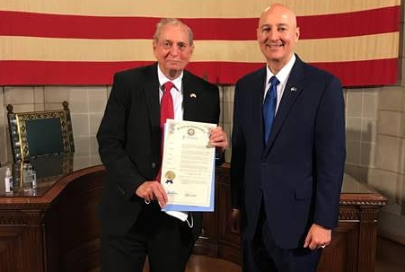 Gov. Ricketts Signs Korean War Veterans Armistice Day Proclamation