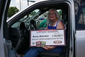 North Platte Woman Claims Sixth Truck$ & Buck$ Truck
