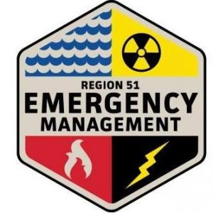 Reporting storm damage in Region 51 Emergency Management