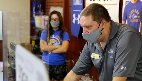 We Care. We Wear: Face masks are key component of UNK's fall plan