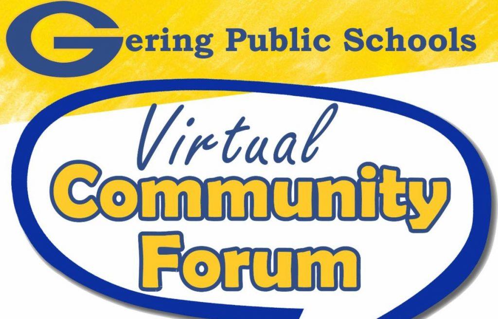 Gering Schools to Host Virtual Community Forum