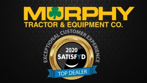 Murphy Tractor & Equipment Co., Inc. Recognized with Customer Satisfaction Award