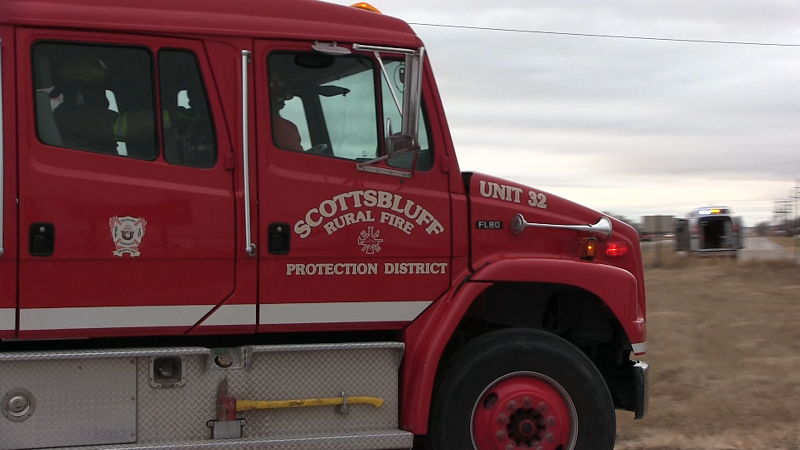 Campfire Found to be Cause of Rural Scottsbluff Garage Fire Tuesday
