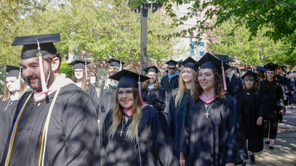 2020 Commencement Event Preparation for Concordia, Takes Place This Saturday August 1st