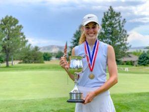 Badura repeats as Girls' Amateur Champion
