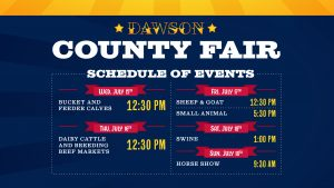 WATCH LIVE: Dawson County Fair | Dairy and Beef Show