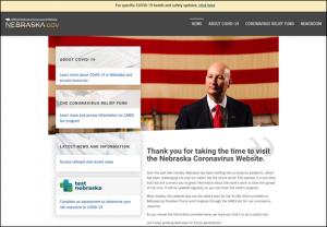 Gov. Ricketts Unveils Coronavirus Information Website