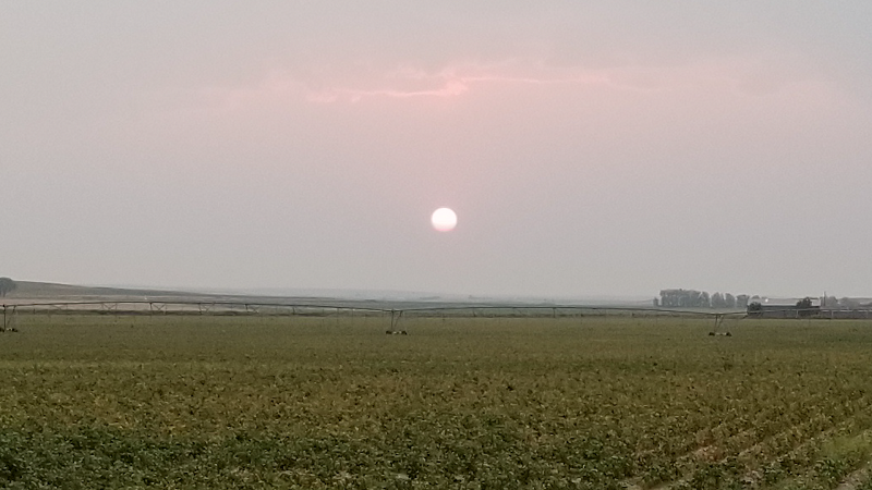 Wildfire Smoke May Lead to Health Advisories in Panhandle, western Nebraska