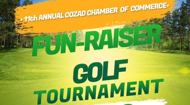 Cozad Chamber to Host 11th Annual Golf Tournament at Cozad Country Club