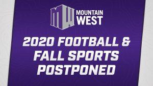 Mountain West postpones 2020 fall sports