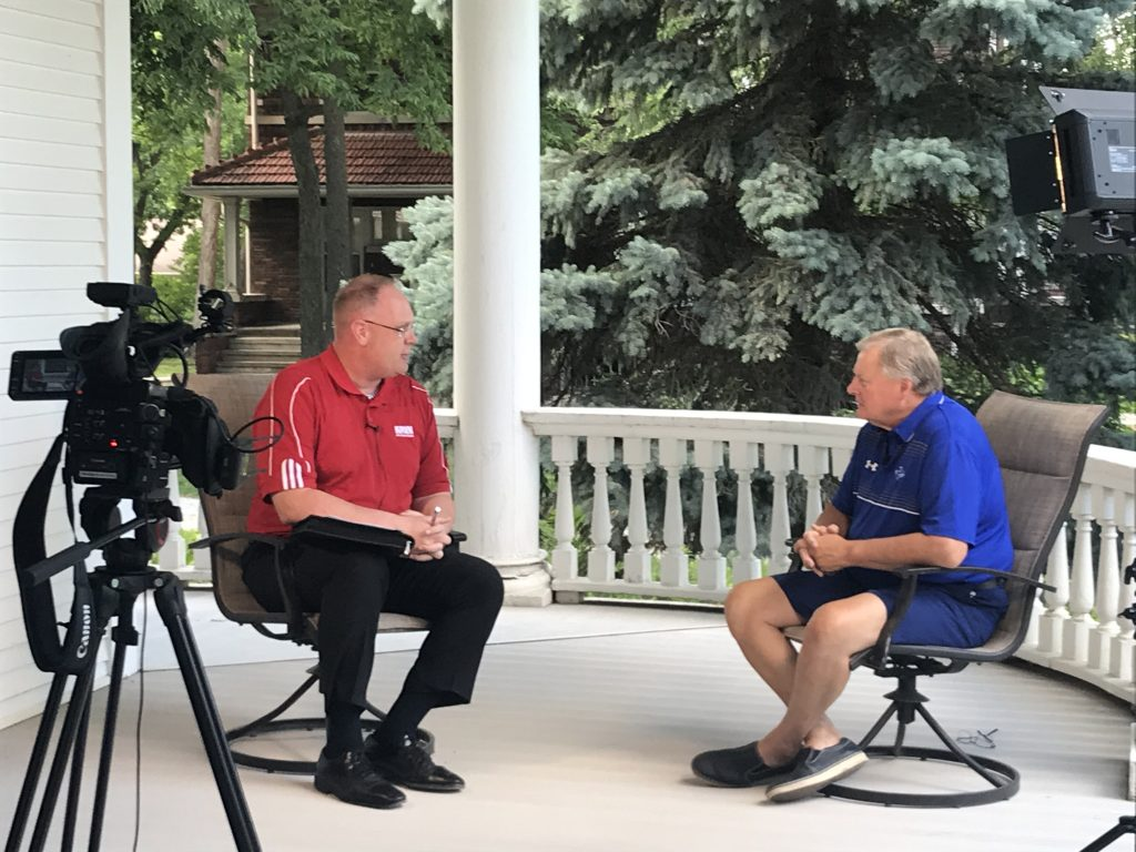"""(Audio and Video) """"Chat with the Chancellor"""" – Special Edition, with UNK Chancellor, Doug Kristensen"""