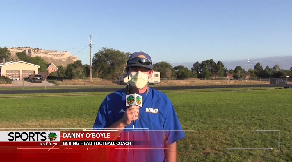 (Watch) KNEB.tv Sports: Danny O'Boyle on Gering opening camp