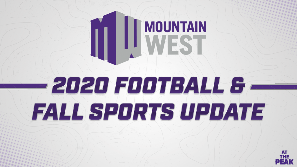 Mountain West announces revised plan for 2020 fall sports