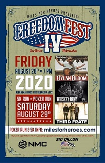(AUDIO) Miles For Heroes Freedom Fest set for last weekend in August