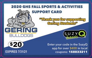 GHS Athletics Announces New Partnership for Discount Card Fundraiser