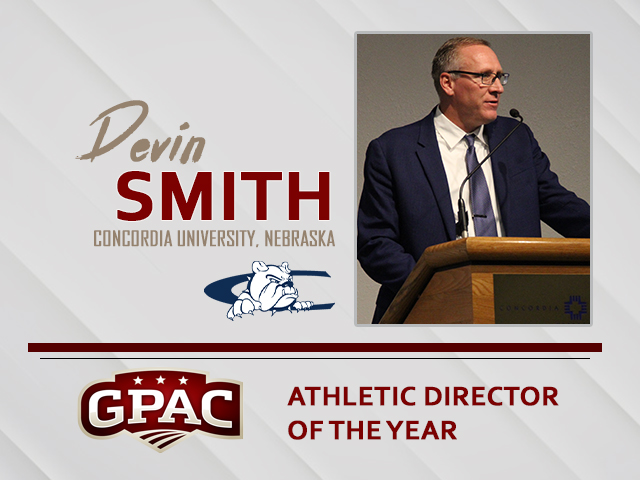 Concordia's Devin Smith named GPAC Athletic Director-Of-The-Year