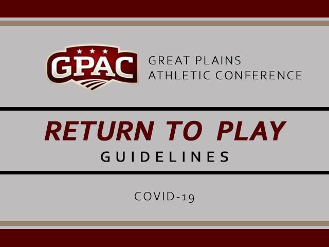GPAC Return to Play Guidelines Released to Member Schools