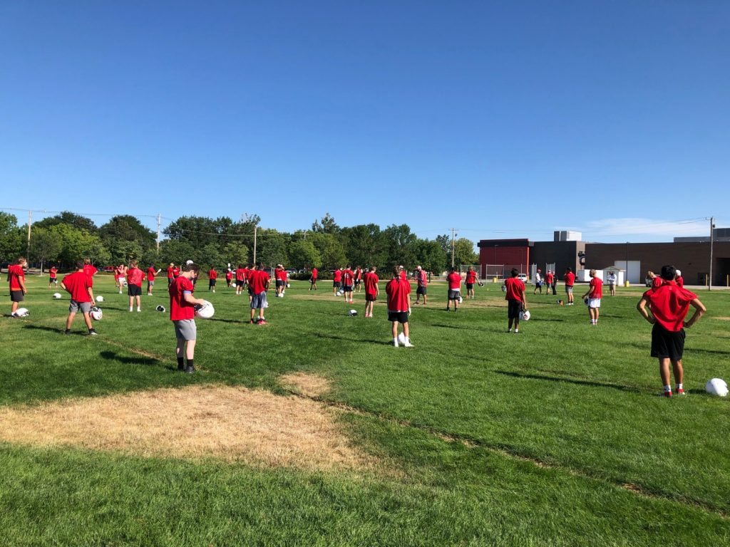 (Watch) KNEB.tv: Scottsbluff football fall camp underway