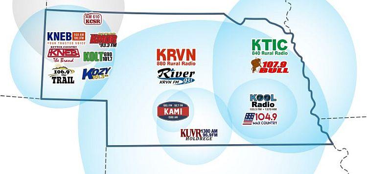 Nebraska Rural Radio Association receives several awards from Nebraska Broadcasting Association
