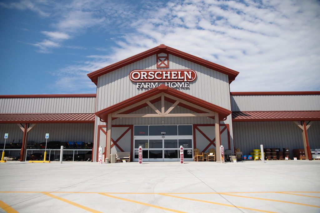 Lexington's Orscheln Farm & Home Has Soft Opening for the New Building Wednesday Morning.