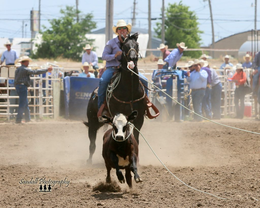 (AUDIO) Nebraska breakaway roping talent to compete professionally at Buffalo Bill Rodeo
