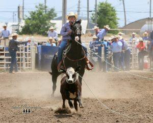(AUDIO) Nebraska breakaway roping talent to compete professionally at Buffalo Bill Rodeo