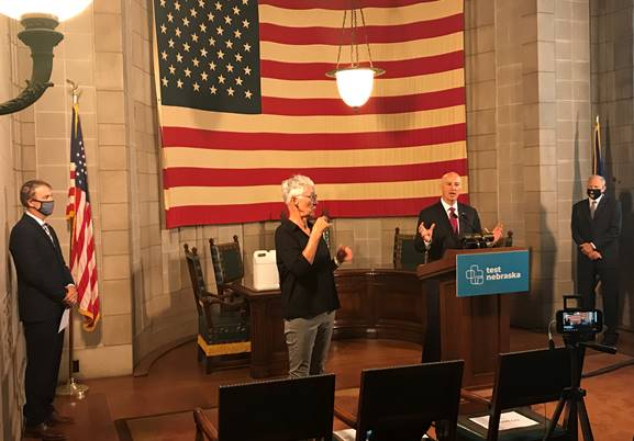 College Leaders Join Governor Ricketts to Highlight Back-To-School Plans
