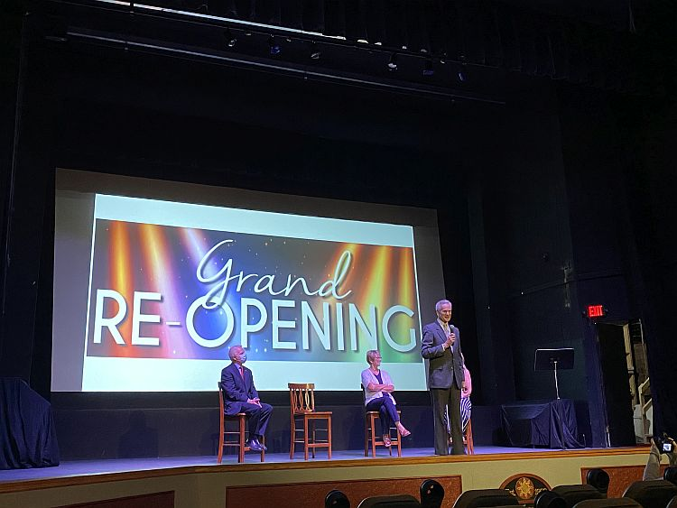 A Century of Entertainment, Illuminated: Lt. Gov. Foley Celebrates State, Local Investments in Gothenburg's Sun Theatre
