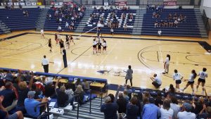 Upcoming volleyball schedule restructured
