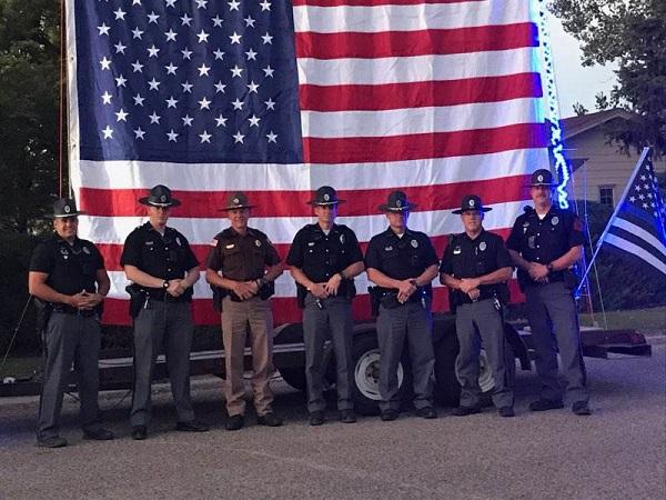 Neighborhood near Scottsbluff Honors Local Law Enforcement