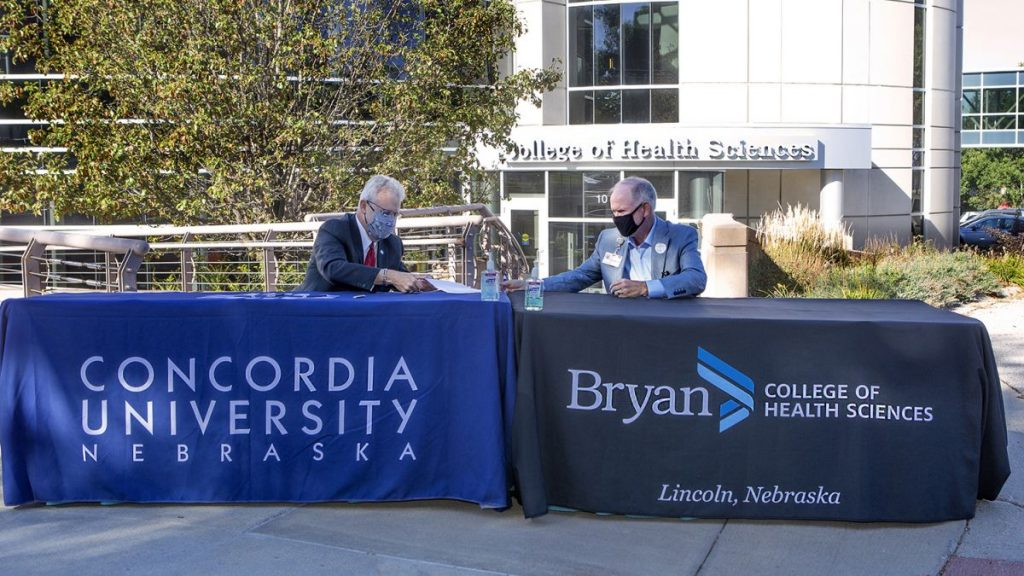 Concordia and Bryan College of Health Sciences partner to offer dual degree program