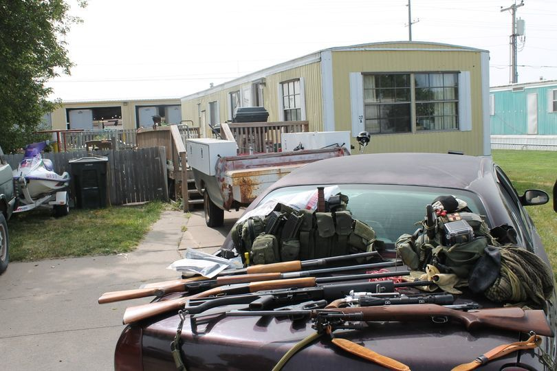 Numerous firearms seized in North Platte stalking case