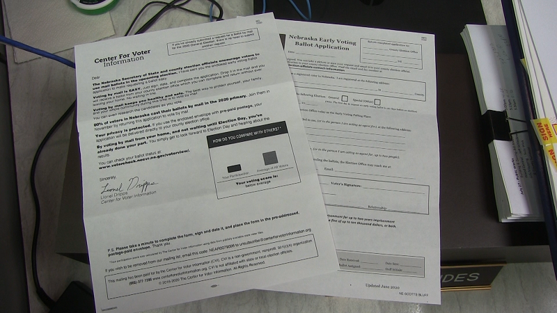 Third-Party Ballot Request Mailing Causes Concern, Confusion Among NE Voters