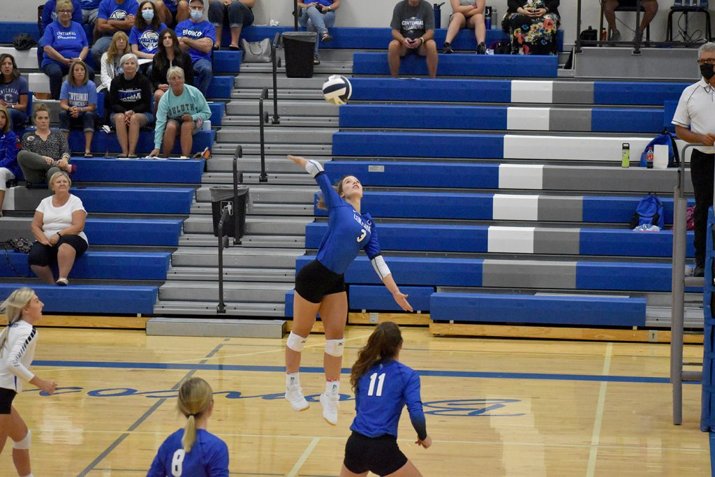 Centennial Sweeps Central City