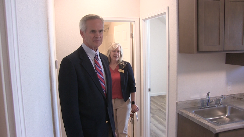 Officials, Dignitaries and Community Mark Eastwood Apartments Interior Completion