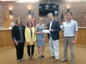 WESTCO and Land O'Lakes Foundation donate $20K to Gering Civic Plaza