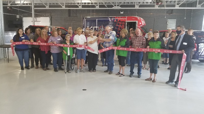 Kimball Co. Transit System Staff, Community Celebrates Building Renovation