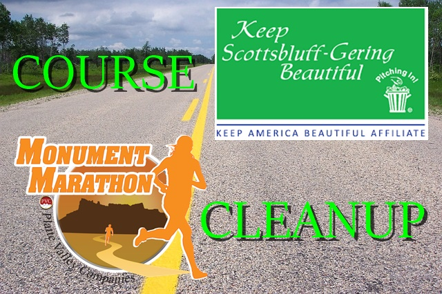 Keep Scottsbluff/Gering Beautiful Monument Marathon Course Cleanup