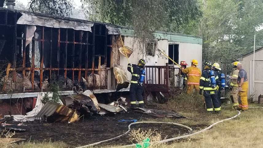 Mitchell Trailer Fire Under Investigation